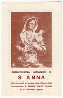 Santino Antico Sant'Anna Da OTTAVIANO - Napoli - Religione & Esoterismo