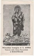 Santino Antico Sant'Anna Da BOSCOTRECASE - Napoli - Religione & Esoterismo