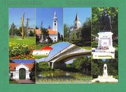 Körösladány HUNGARY - Postcard, Churches, Bridge, Unused Post Card - As Scan - Hongrie