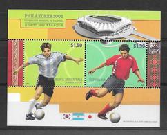 PHILA KOREA 20002 PHILAKOREA EXPOSICION MUNDIAL DE FILATELIA ARGENTINA HOJITA BLOC JALIL GOTTIG 143 MNH - Blokken & Velletjes