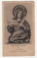 Santino Antico Sant'Anna Da LETTERE - NAPOLI - Religione & Esoterismo