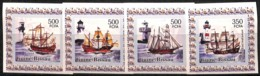 [813316]Guinée-Bissau 2006 - Grands Voiliers, Bateaux, Phares, ND/IMPERF, SC - Bateaux
