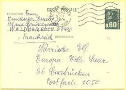 FRANCIA - France - 1976 - 0,60 Marianne De Béquet - Carte Postale - Intero Postale - Entier Postal - Postal Stationery - - Biglietto Postale