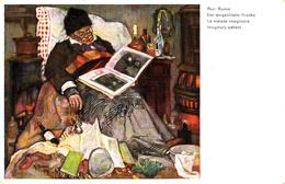 AUGUST RUMM : DER EINGEBILDETE KRANKE / LE MALADE IMAGINAIRE / IMAGINARY PATIENT ~ 1930 (aa551) - Illustrateurs & Photographes