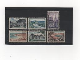 FRANCE    1954  Y.T. N° 976  à  981  NEUF** - France