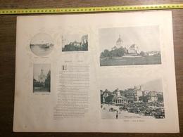 DOCUMENT SUISSE MORGES VEVEY OUCHY LAUSANNE - Vieux Papiers