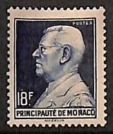[811400]Monaco 1946 - N° 306, 18F Violet Prince Louis II. , La Valeur Clé - Monaco