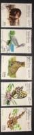 [811784]Laos 1996 - N° 1212/1216, Faune Diverse, Papillon, Serpent, Félin, Oiseaux - Laos