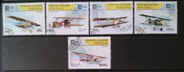 [811785]Laos 1996 - N° 1225/1229, Exposition Philatéliques, Avions Anciens, SC - Laos