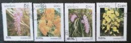 [811787]Laos 1996 - N° 1233/1236, Fleurs, SC, Orchidée - Laos