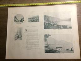 DOCUMENT SUISSE CLARENS MONTREUX GLION ROCHERS DE NAYE - Old Paper