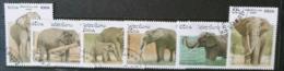[811791]Laos 1997 - N° 1275/1280, Animaux, Eléphants, SC - Laos