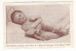 Santino Antico Gesù Bambino - Napoli - Religione & Esoterismo