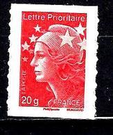 FRANCE Adh175a** Marianne De Beaujard Autoadhésif Sans Valeur Rouge émis En Planche De 100 - 2008-13 Marianne De Beaujard