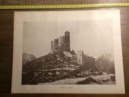 DOCUMENT SUISSE SION VALERE VAL D HERIENS ANNIVIERS - Vieux Papiers