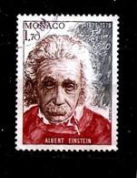 MONACO  1979  ALBERT EINSTEIN USED (0)  -1 - Albert Einstein