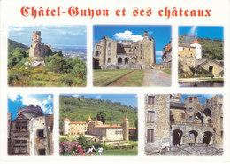 63 Châtel Guyon Divers Aspects (2 Scans) - Châtel-Guyon