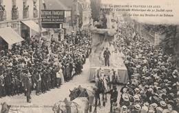44 NANTES     Cavalcade Historique Du 31 Juillet 1910 - Le Char Des Druides Et Du Dolmen   SUPER PLAN - Nantes
