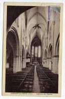 AUBIGNY SUR NERE -- Intérieur De L'église ............pas Très Courante.........à Saisir - Aubigny Sur Nere