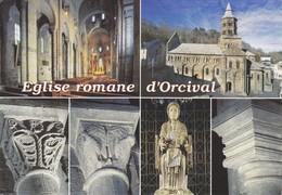 63 Orcival Eglise Romane Divers Aspects (2 Scans) - France