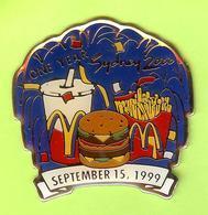 Pin's Mac Do McDonald's Sydney 2000 Trio Feux D'Artifice? 15 September 1999 - 10Y28 - McDonald's