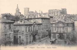 84 - AVIGNON - Place Grillon - Ancien Théâtre - Avignon