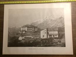 DOCUMENT SUISSE RYFFELBERG ET LES MISCHABEL MONT CERVIN - Vieux Papiers