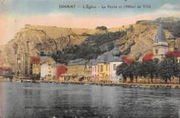 DINANT - L'Eglise - La Poste Et L'Hôtel De Ville - Dinant
