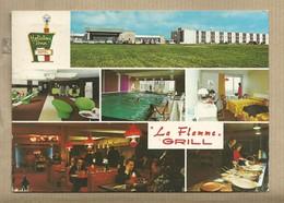 CPM Hôtel Hollyday Inn LILLE AEROPORT - Lesquin 59 - Grill Restaurant La Flamme - Voyagée 1973 - Restaurants