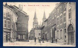 54. Blâmont. Rue Du Pont. Eglise Saint-Maurice. 1911 - Blamont