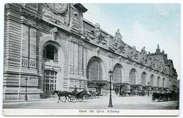 75 : PARIS - GARE DU QUAI D'ORSAY - Métro Parisien, Gares