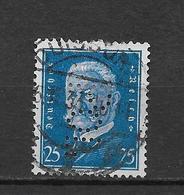 "LOTE 1830   ///   (C025)  ALEMANIA IMPERIO   YVERT Nº:  407   CON PERFORACION ""POL"" - Usados"