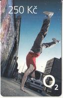 CZECH REPUBLIC - Street Dance, O2 Prepaid Card 250 Kc, Exp.date 31/12/12, Used - Czech Republic