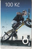 CZECH REPUBLIC - BMX, O2 Prepaid Card 100 Kc, Exp.date 31/12/11, Used - Tchéquie