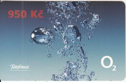 CZECH REPUBLIC - Telefonica/O2 Prepaid Card 950 Kc, Exp.date 31/12/09, Used - Czech Republic