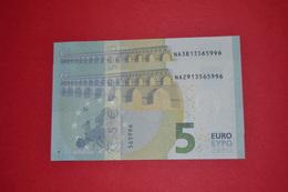 2x 5 EURO AUSTRIA / ÖSTERREICH - N011H3 NA38 13565996 / N011I2 NA29 13565996 - UNC FDS NEUF - EURO