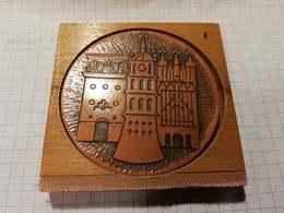 Lithuania Lietuva, Vilnius, Medal 6cm - Jetons & Médailles