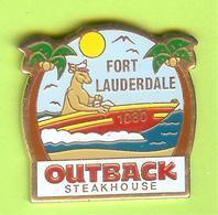 Pin's Bateau Outback Steakhouse Fort Lauderdale Kangourou - 4BB22 - Boats