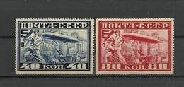 RUSSIA. RUSSIE. UDSSR. 1930. Zeppelin, Aviation. FULL SET ! - 1923-1991 URSS