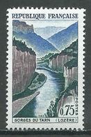 France YT N°1438 Gorges Du Tarn Neuf ** - France