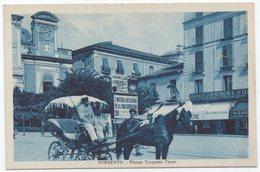 Sorrento (Napoli) - Piazza Torquato Tasso - Napoli