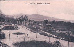 Lausanne, Promenade Mercier, Tombola De La VIIIe Exposition D'Agriculture Suisse  Au Dos (77) - VD Vaud