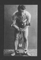 HUMOUR - INSOLITE - LE LÉGENDAIRE HARRY HOUDINI EN 1899 AVEC SON TOUR D'AUTO LIBÉRATION - Humour