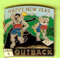 Pin's Outback Steakhouse Koala Happy New Year - 7BB16 - Animals