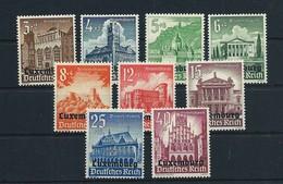 LOTE 1831   ///   (C200)  ALEMANIA IMPERIO  OCUPACION DE LUXEMBURGO // Michel-Nº: 33-41 **MNH - Alemania