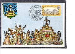 1721 La Koninklijke Soevereine (Gent) - Cartes-maximum (CM)