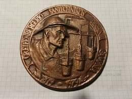 Lithuania Lietuva 1979 Greifenberger Plumbing Factory, Kaunas, Medal 7,50 X 8,50 Cm - Jetons & Médailles
