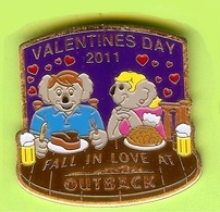 Pin's Outback Steakhouse Koala Valentines Day - 10Y16 - Animals