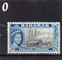 1954 Elizabeth Issue 2/6 Used - Bahamas (...-1973)