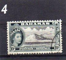 1954 Elizabeth Issue 10/- Used - Bahamas (...-1973)